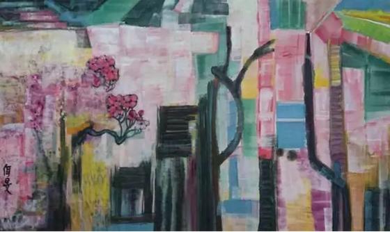 La poésie des couleurs chez Yang Ermin