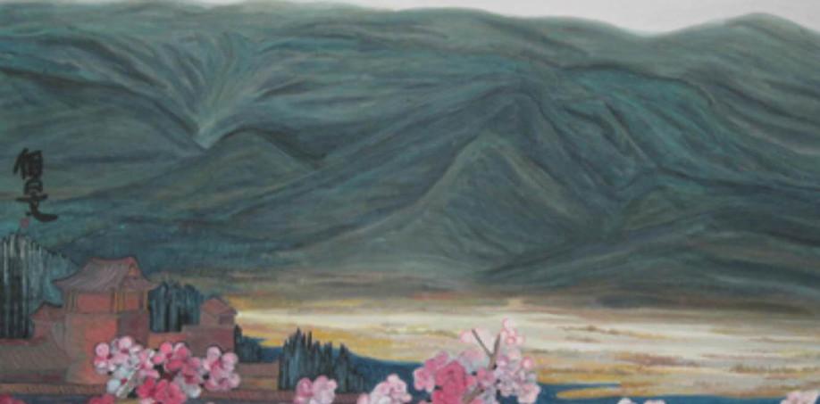 The Riverside of Qingshui 2012Y 116*144