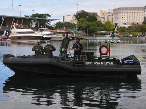 Godzilla, el nuevo barco táctico de la Policía Militar de Amapá