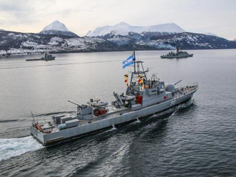 La Armada Argentina en el Sur