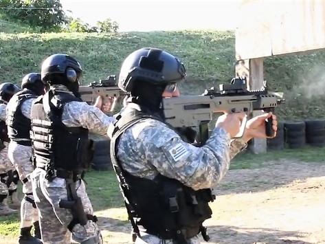 La Policía Nacional de Uruguay adquiere fusiles Tavor X95 y busca nuevo helicóptero