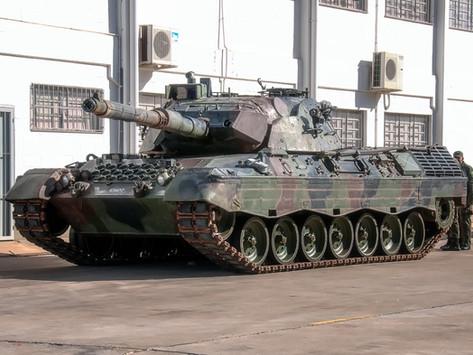 Leopard 1A5 BR en Brasil: la modernización puede estar cerca