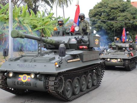 Recuperación de blindados por parte del Ejército de Venezuela