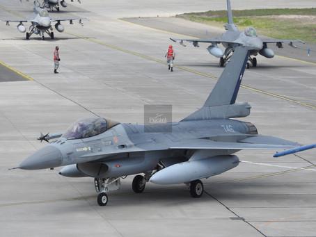 F-16 Fighting Falcon en el desfile por las Fiestas Patrias de Chile