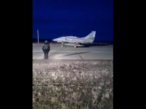 A-4AR en el fin del mundo