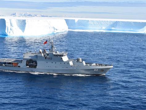 Más de 22 mil kilómetros durante la Patrulla Antártica Naval Combinada entre Chile y Argentina