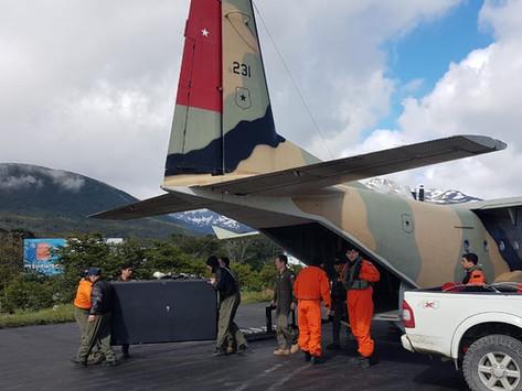 La Aviación del Ejército de Chile en la Región de Magallanes y Antártica
