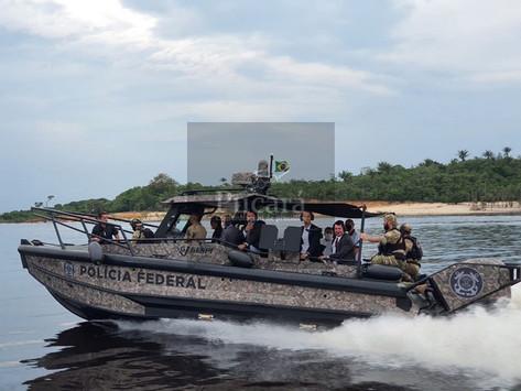 Nuevas lanchas blindadas de la Policía Federal de Brasil