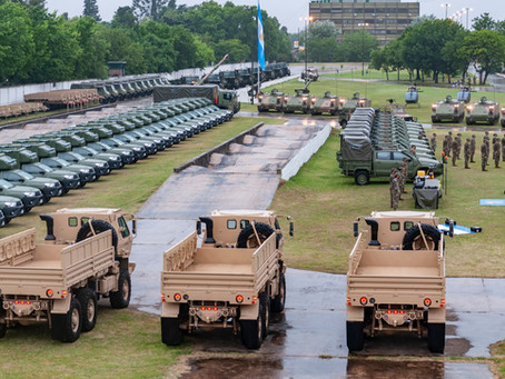 El Ejército Argentino incorpora material nuevo y recuperado
