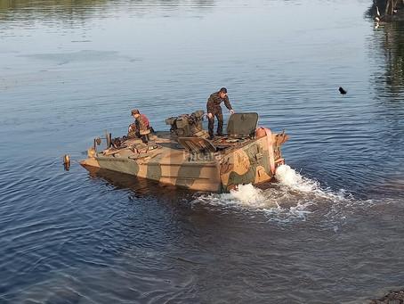 El Guaraní hace su debut operativo en la Amazonía