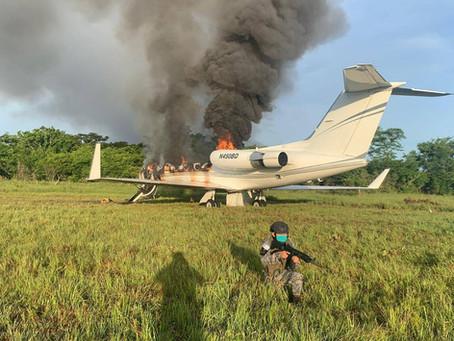 Jets para interceptar vuelos ilegales, el caso de Guatemala