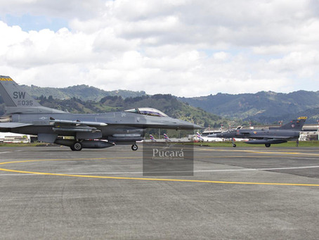 La Fuerza Aérea Colombiana y la USAF se entrenan en el Ejercicio Relámpago VI