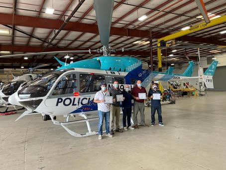 La Policía Bonaerense de Argentina se prepara para recibir su primer Airbus H145.