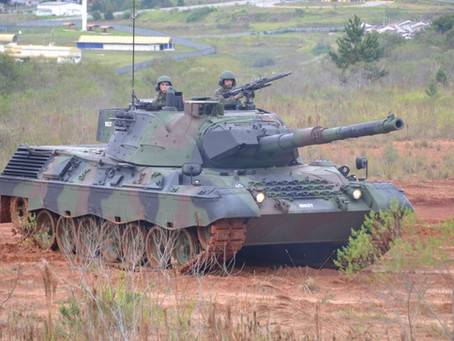 Brasil apunta a modernizar sus blindados