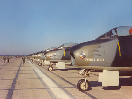 F-86F Sabre, la primera cabina en soledad