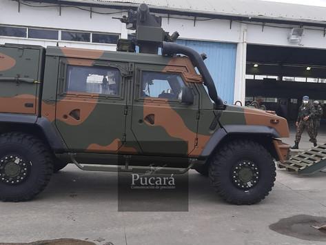 El Ejército Brasileño inicia la homologación del blindado LMV-BR