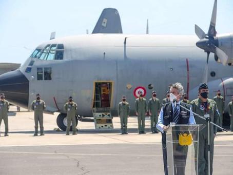 La Fuerza Aérea del Perú recibe dos Lockheed KC-130H Hercules