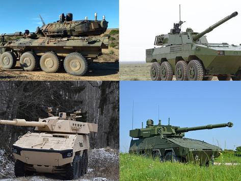 El Ejército Brasileño anuncia programa de entrega de los blindados 8x8