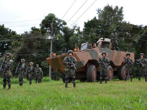 Recordamos la primera operación del VBTP-MSR 6X6 Guaraní en Brasil