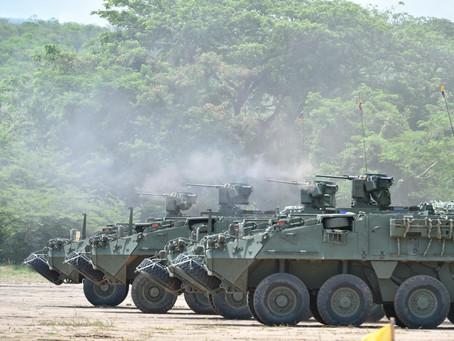 Colombia realiza demostración de fuerza cerca de la frontera con Venezuela