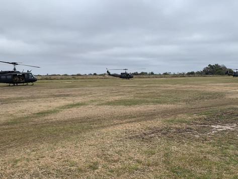 Ejercicio de asalto aéreo del Ejército Argentino