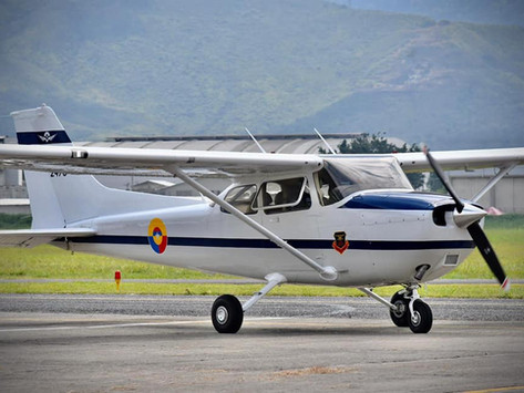 Fuerza Aérea Colombiana recibe aeronaves para entrenamiento primario