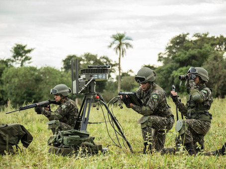 Radar SENTIR M20, el vigilante de las fronteras brasileñas