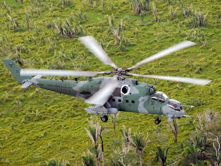 Russian Helicopters e IAS repararán los Mi-35M de la Força Aérea Brasileira