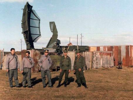 El radar de la Fuerza Aérea Argentina en Malvinas