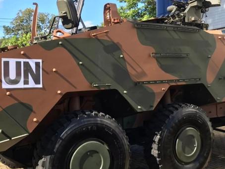 Los blindados Guaraní y Lynx son demostrados a militares argentinos