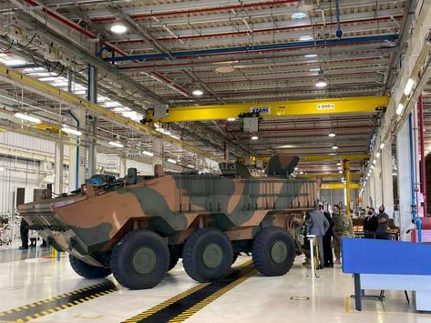 El Jefe del Estado Mayor del Ejército Argentino visitó Iveco Defence Vehicles
