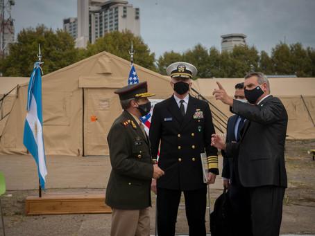 El jefe del Comando Sur de los Estados Unidos, se reunió con autoridades de defensa de Argentina