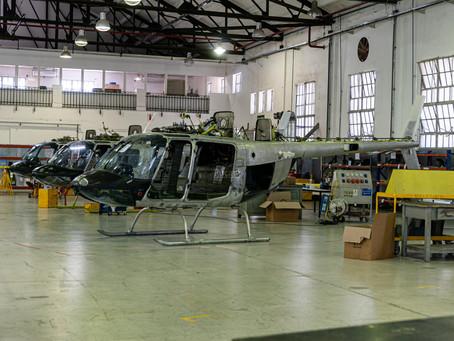 FAdeA y los AB-206 para el Ejército Argentino