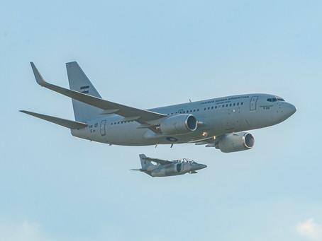La Fuerza Aérea Argentina recibe su Boeing 737-700