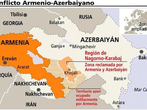 Conflicto bélico entre Armenia y Azerbaiyán, escenario de Drones.