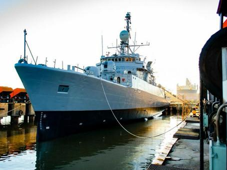 Astillero Tandanor repara la corbeta ARA Robinson