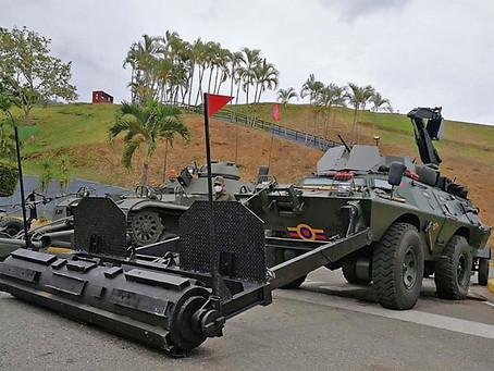 Recuperación de material por parte del Ejército Bolivariano de Venezuela (Actualización)