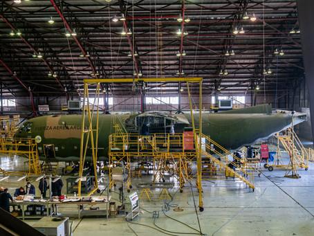 Algunos datos sobre la modernización de los C-130 Hercules argentinos