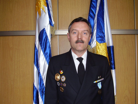 Entrevista al contraalmirante Otto Gossweiler, Comandante de la Flota de la Armada Uruguaya