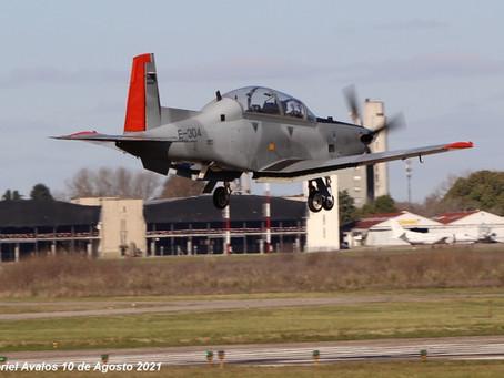 Preparativos para el día de la Fuerza Aérea Argentina