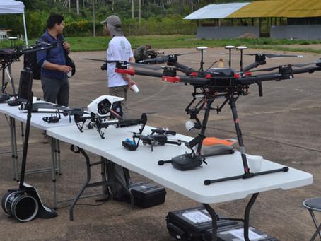 Uso de drones comerciales en el ámbito militar.