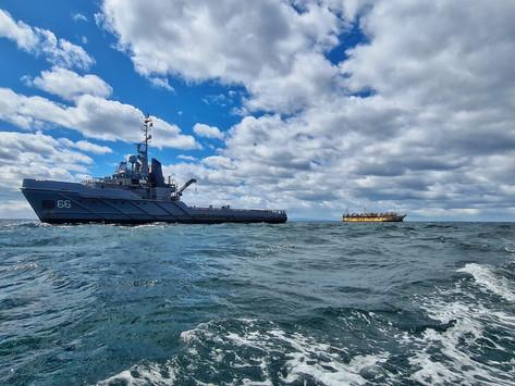 Armada de Chile vigila pesqueros en tránsito por el Estrecho de Magallanes