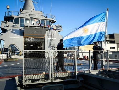 """Naval Group entregó el ARA """"Piedrabuena"""""""