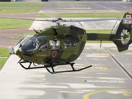 La Fuerza Aérea Ecuatoriana recibe tres Airbus H145