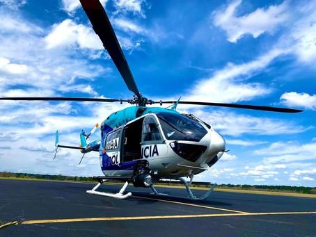 H145 para la Policía Bonaerense ya en Argentina