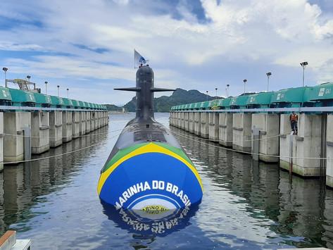 El submarino Humaitá ya está en el mar
