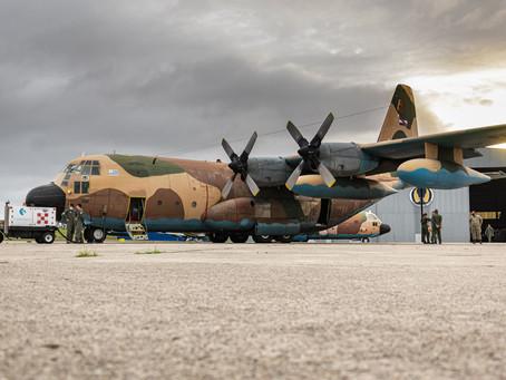 KC-130H Hercules uruguayo viaja a Estados Unidos en misión por Covid-19