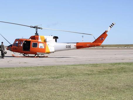 La Fuerza Aérea Uruguaya incorporará un Bell 212