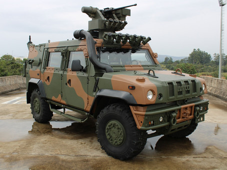El Ejército Brasileño recibe su primer LMV-BR