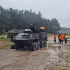 Blindado Guaraní porta mortero: novedades